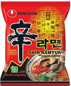 Суп Рамен очень острый Nong Shim, 120г