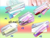Набор 5 видов! битое стекло для ногтей, 25см*5 см