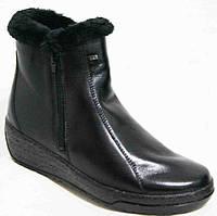Ботинки женские зима большие размеры, женская обувь больших размеров от производителя модель М14И93