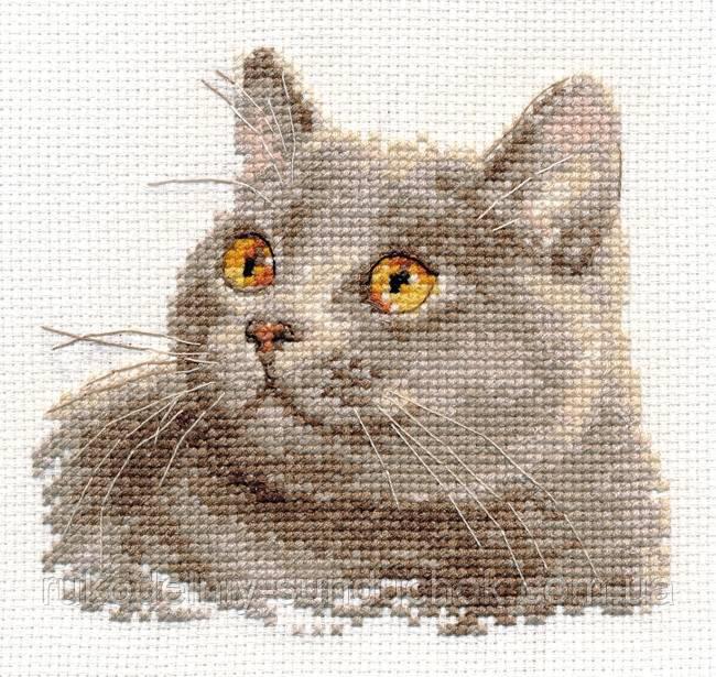 Алиса вышивка крестом коты