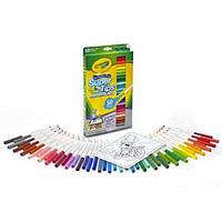 Crayola Смывающиеся фломастеры 50 штук 50ct Washable Super Tips