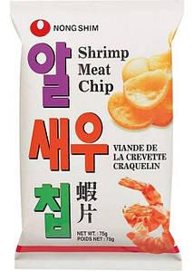 Чипсы креветочные Nong Shim, 75г