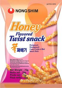 Снеки пшеничные медовые Nong Shim, 75г