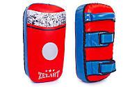 Пад (тай-пэд) Кожа, PVC ZEL ZB-6146 (1шт, р-р 41x23x10см, красно-синий)