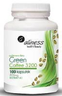 Зеленый кофе в капсулах Aliness, 100капс. (800мг)