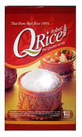 Рис жасминовый длиннозерный QRice, 1кг