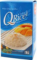 Клейкий рис длиннозерный QRice, 1кг