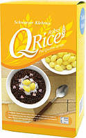 Рис черный среднезерный QRice, 1кг