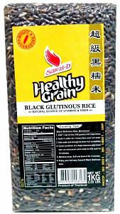 Клейкий черный рис Sawat-D, 1кг