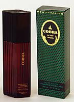 Туалетная вода для мужчин Cobra 100 мл.