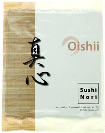 Водоросли Нори Oishii, 8шт., фото 2