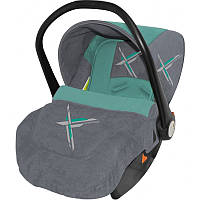 Автокресло Bertoni Lifesaver Grey Green Lorelli