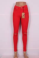 Яркие турецкие женские джинсы (Код 229)
