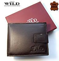Портмоне мужское кожаное Always Wild. кошелек, натуральная кожа. Польша ЕК4, фото 1