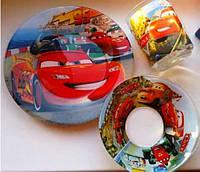 Детский набор посуды Тачки (3 предмета)