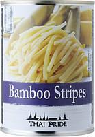Ростки бамбука нарезанные полосками Thai Pride, 565г
