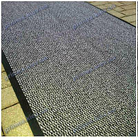 Грязезащитная дорожка Стандарт 120см. цвет серый длина любая