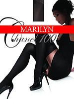 Матовые чулки Marilyn CHANEL 100