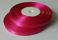 Лента атласная ярко-розовый 6 мм, 36 ярдов (32,9 м)