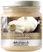 Чеснок нарезанный в соевом масле Thai Pride, 180г