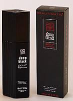 Туалетная вода для мужчин Deep Black 100 ml .