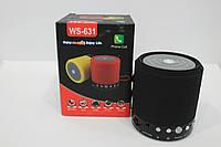 Колонка портативная SPS WS 631+BT, Bluetooth колонка, компактная мини колонка, акустическая система