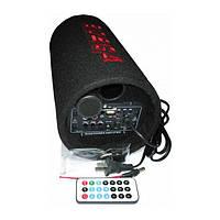 """Сабвуфер Bosca 5"""" активный, USB , пульт ДУ , чистый звук  авто колонка"""