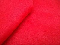 Фетр красный мягкий