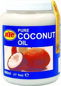 Масло кокосовое рафинированное KTC, 500мл