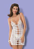 Эротическая сорочка от Obsessive BRIDE WHITE, фото 1