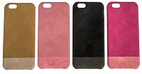 Накладка кожа color для iPhone 6 mix
