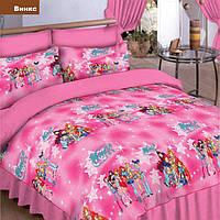 Набор постельного белья для девочки Винкс (подросток)  полуторный