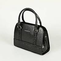 Женская компактная сумка М60-33/14 со змеиной вставкой, фото 1