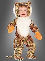 Детский карнавальный костюм тигренка для младенцев