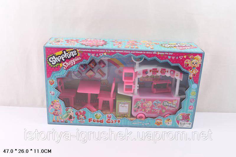 Детский набор мебель Shopkins DN 807 ss