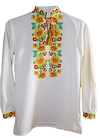 Вишиті чоловічі сорочки (машинна вишивка).
