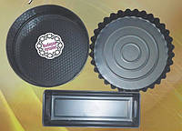 Набор форм для выпечки (торт круг+кекс+рулет) 3 шт Empire 9858
