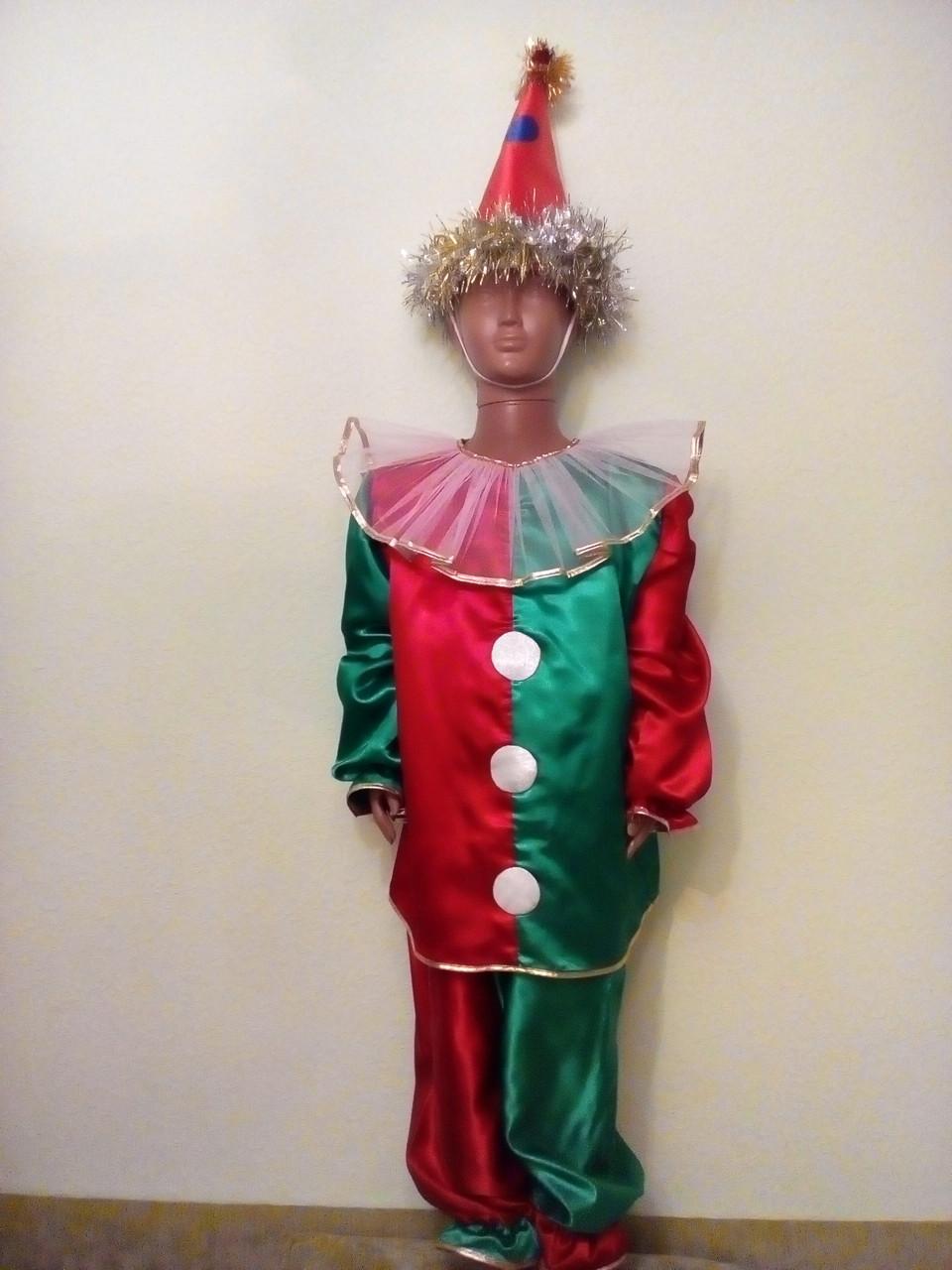 Карнавально-новогодние костюмы напрокат Клоун 98-110 см Киев Подол ... 2f07f7fc849