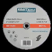 Круг по металу 230х2,0 mm
