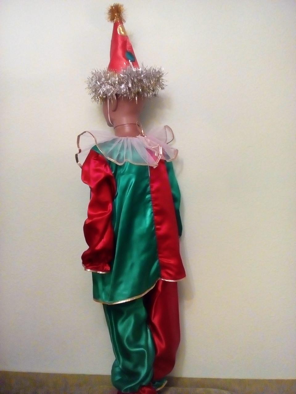 Карнавально-новогодние костюмы напрокат Клоун 98-110 см Киев Подол, фото 2 2006927c914