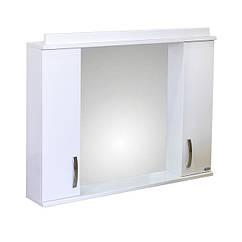 "Навесное зеркало ""Амадин Модерн 95"" 2 w Р-06, шкаф-зеркало для ванной"