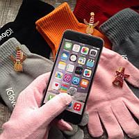 Перчатки женские мужские iGlove для телефона сенсора зимние
