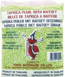 Шарики тапиоки (Саго) мелкие зеленые Cock Brand, 454г