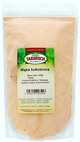 Мука кокосовая Targroch, 500г