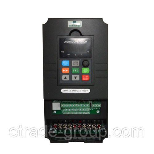 AE-V812-G5R5/P7R5T4 преобразователь частоты 380В 3ф 5,5G/7,5P кВт