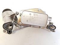 Корпус масляного фильтра в сборе с фильтром и теплообменником (масляным радиатором , охладителем масла КПП) GM 5650364 5650833 93186324 55353322