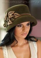 Фетровая зимняя шляпа