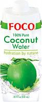 Кокосовая вода Foco, 500мл