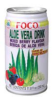 Напиток алоэ вера с ягодами Foco, 350мл