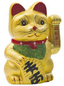 Японская фигурка манэки-нэко 17,5 см